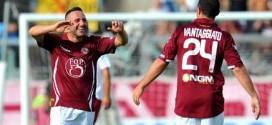 Serie B, ex biancoscudati senza freni: doppiette per Cutolo, Mbakogu e Vantaggiato, a segno Cacia. Frosinone in fuga