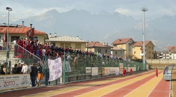Stadio Zugni Tauro Feltre tribuna ospiti